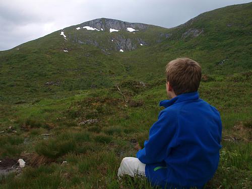 Blåfjellet er høgste fjellet i dalen. Kanskje ein dag...?