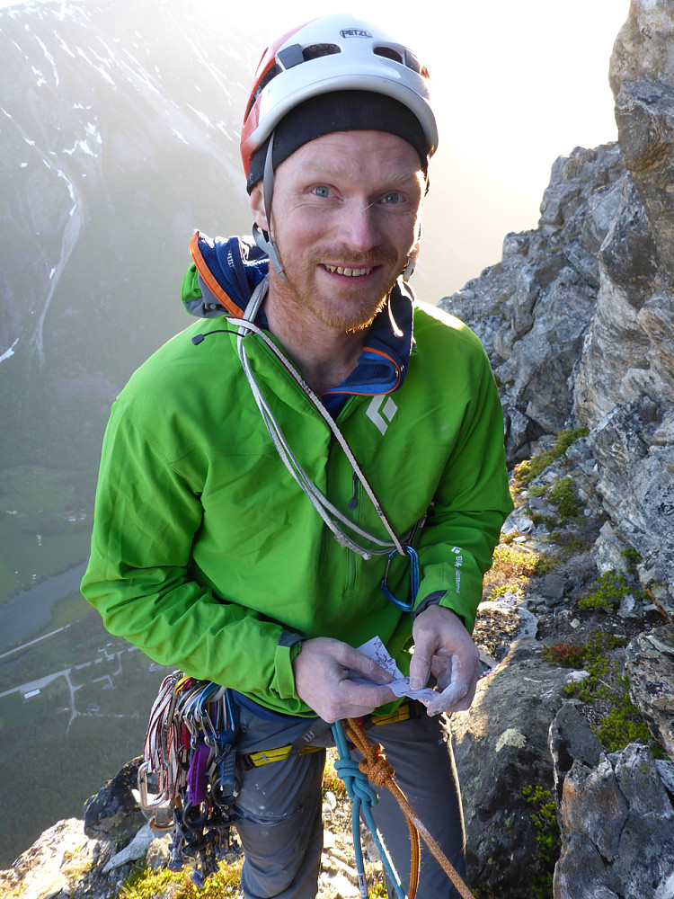 Alpine climbing is easy climbing in dangerous places. Ja nettopp! Gi meg det!