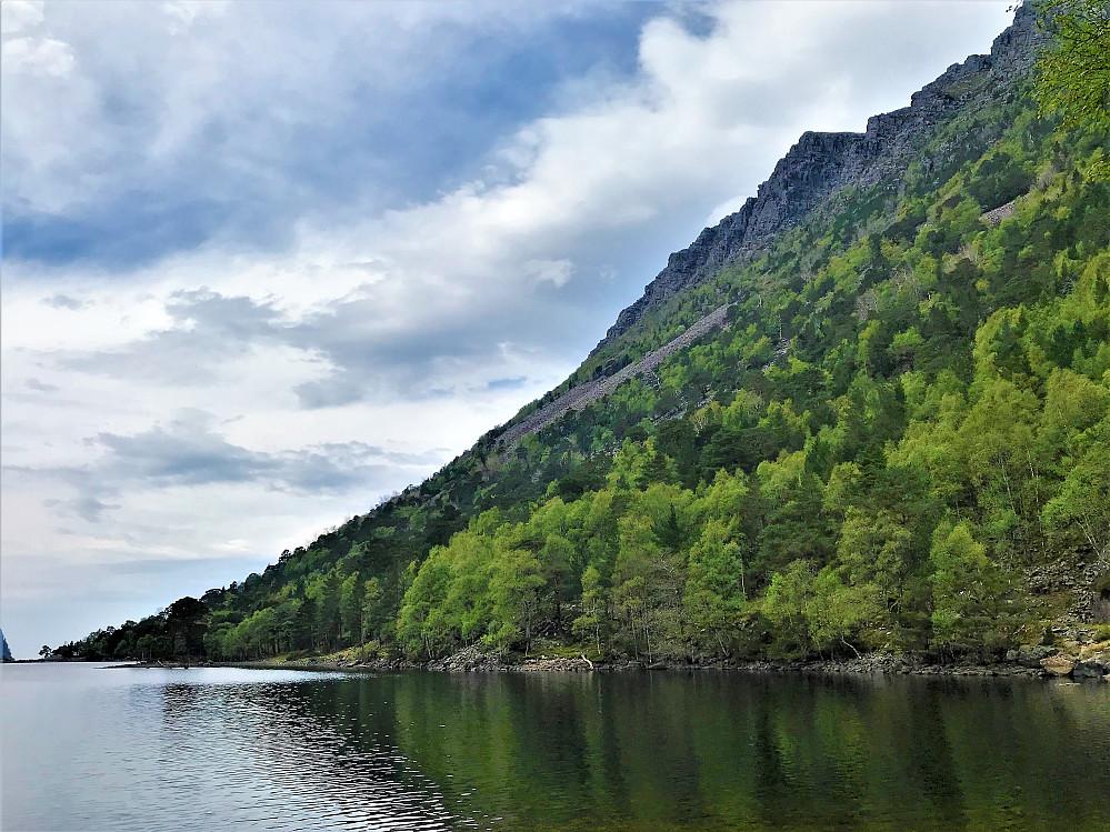 Ved Norddalsvatnet 84 moh