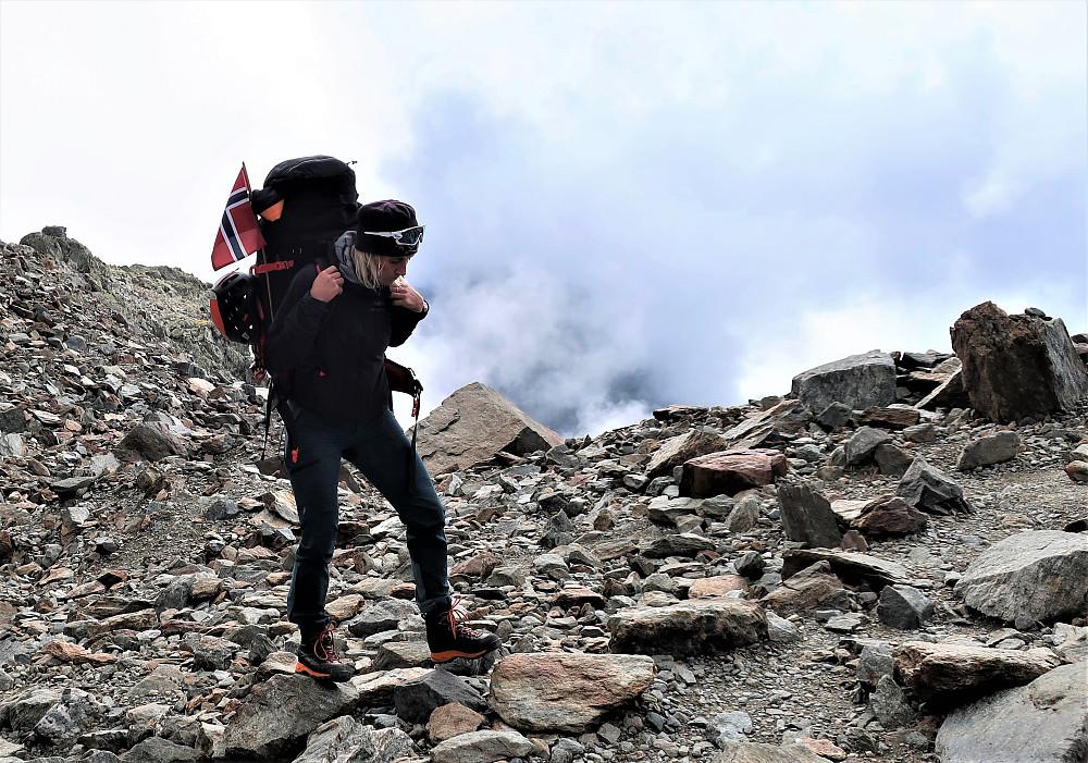 Ein lang dag og mange høgdemeter! Nye rutevalg ved raske avgjerdsler i eit håp om å nå toppen av Mont Blanc etter ikkje eit heilt uventa ustabilt ver over ei tid!!