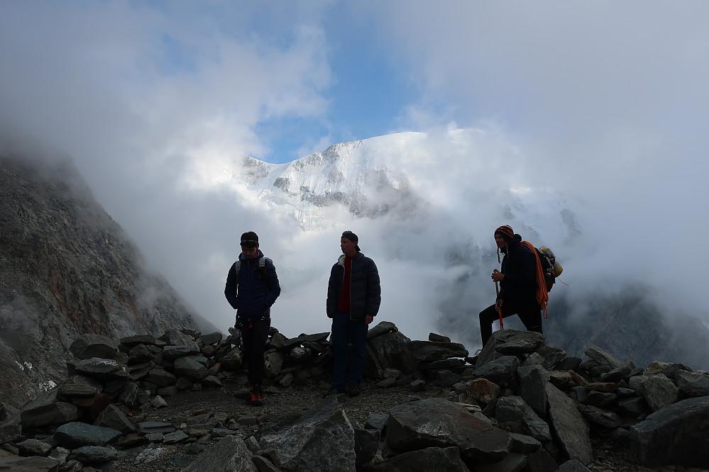 Kan ikkje anna seie enn at eg nyter den frie følelsen i fjellet!
