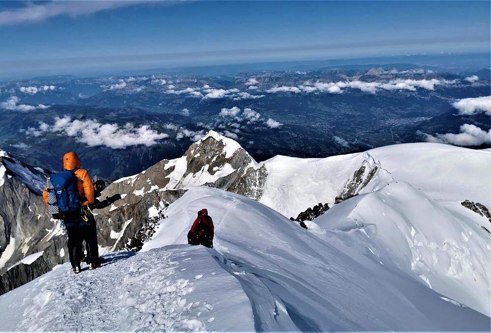 Nydelige snørygger ifrå Mont Blanc