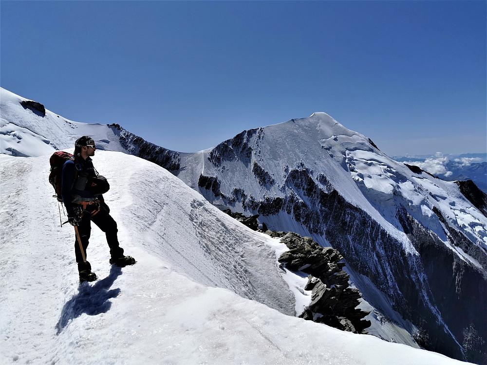 Geir Arne nyter fjellskuet