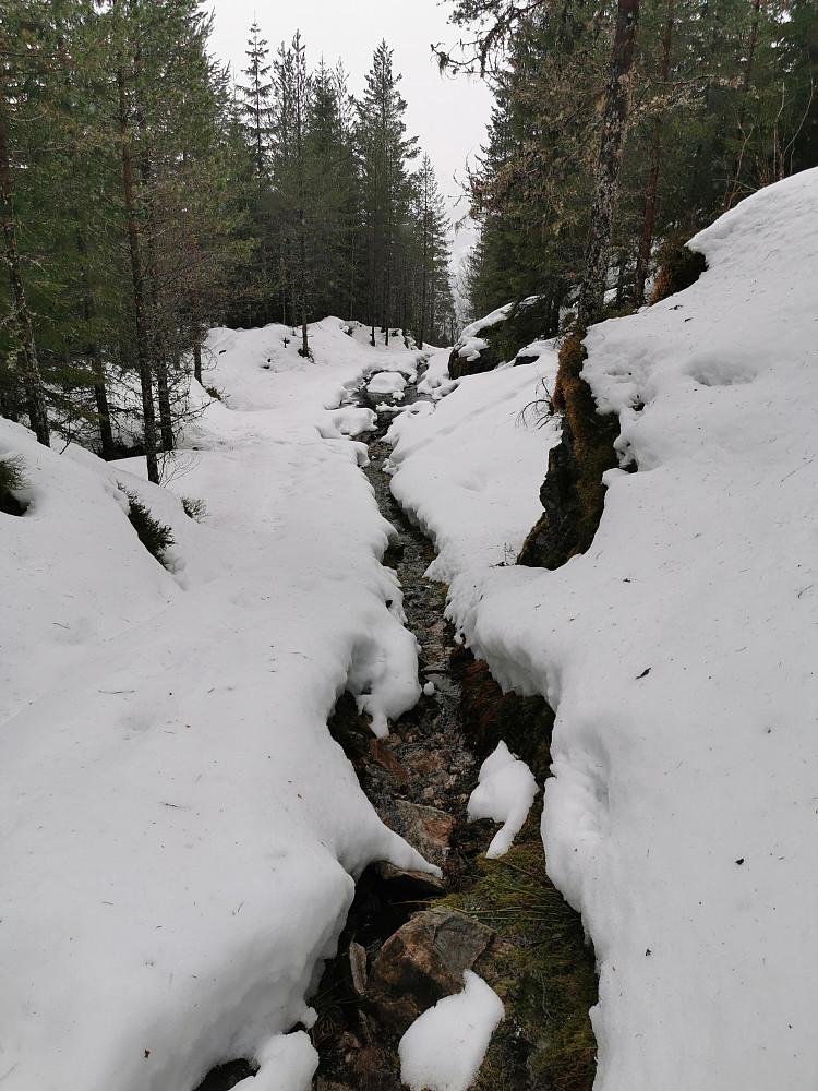 Tømme vinteren i ei elv kan vel stemme her! :)