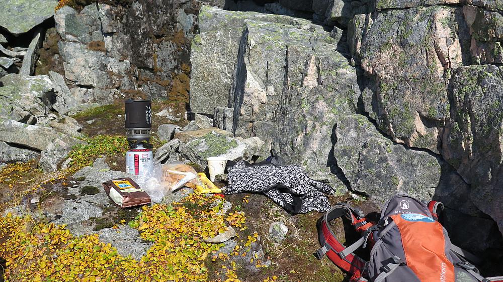 Dugeleg matpause må til for gode fjellfantar :)