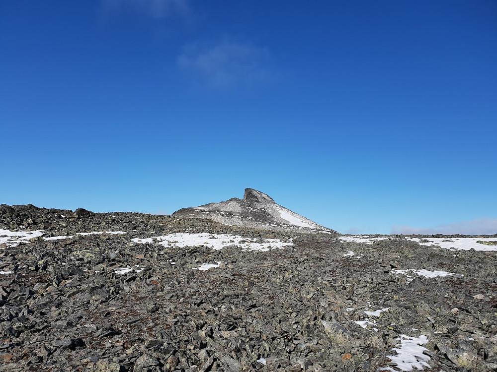 Første glimt av Ryggjehøe
