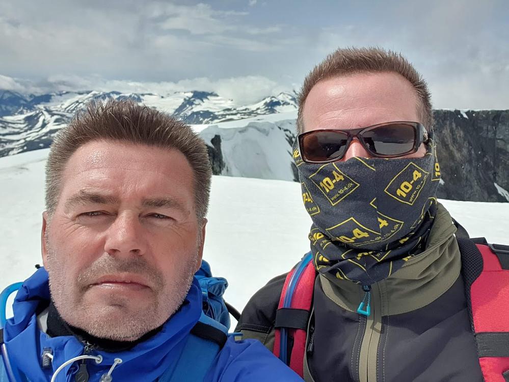 Norsken og dansken på toppen