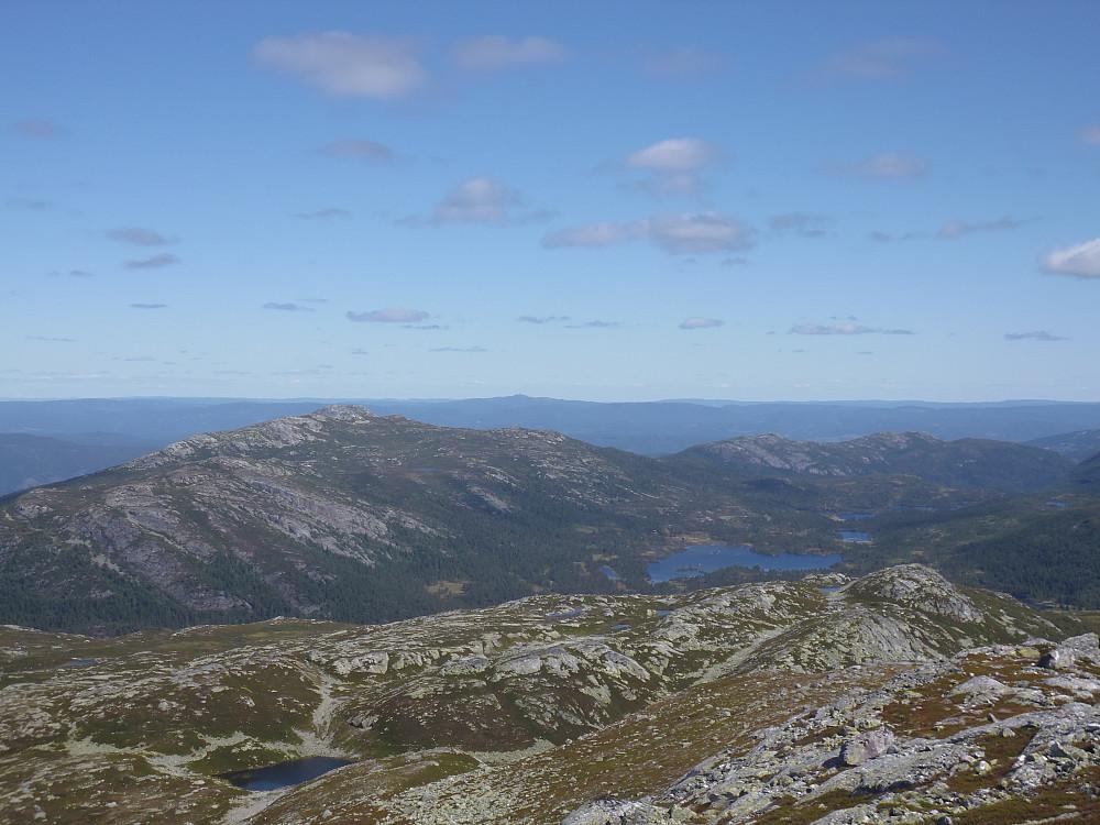Fra toppen av Røysdalsnuten