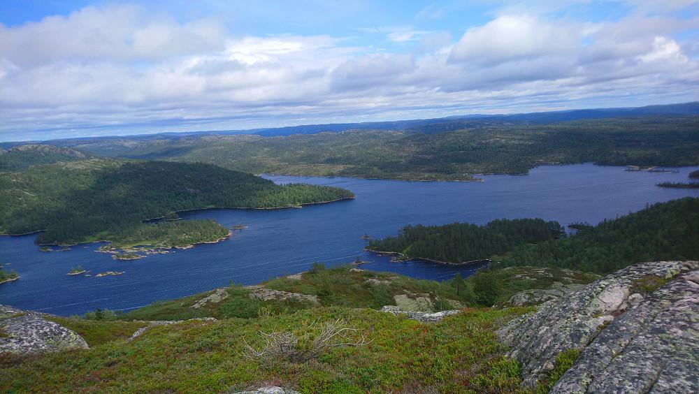 Flott utsikt over Gyvatn