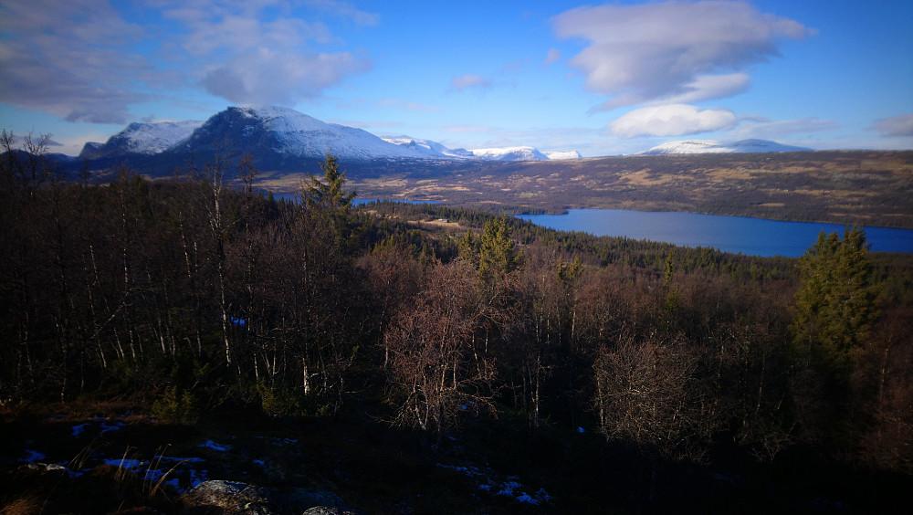 Utsikt fra Svarahovda