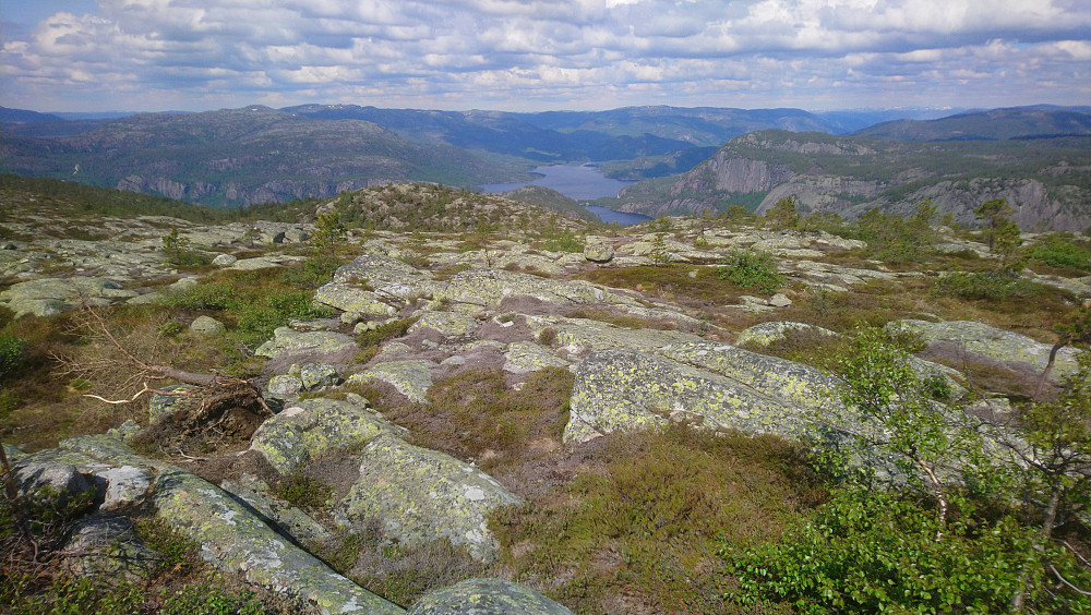 Utsikt nord-vest