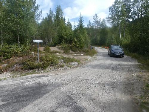 Furuvannsveien med bom