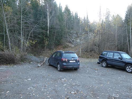 Parkeringsplassen