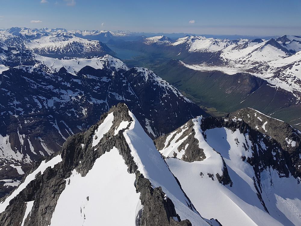 Isfjorden i bakgrunnen