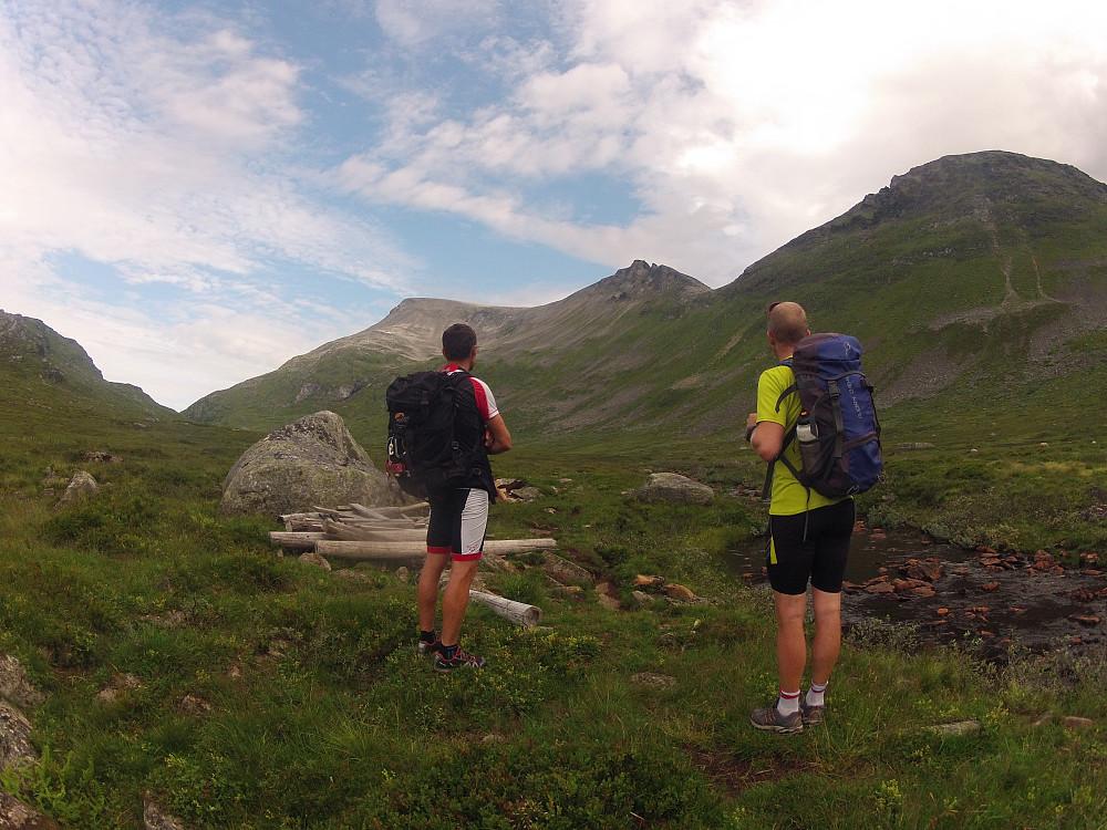 Fra Gråsteinsdalen med Fremsteskorene midt i bildet