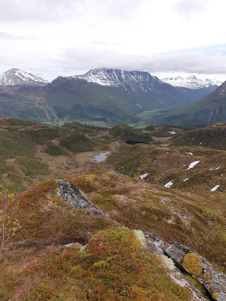 Utsikt fra Storbotnhøa
