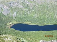 Nordenden av Sikkildalsvannet