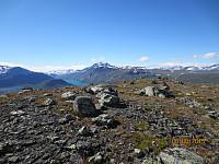Toppen av Nørdre Gåpåpiggen mot Besshøe