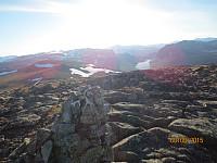 Tilbakeblikk inn Sikkilsdalen
