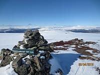 Toppen av Baksidevassberget