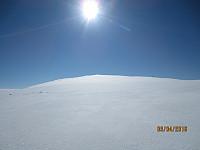 Utrolig lettgått på perfekt snø siste biten opp mot Solsidevassberget
