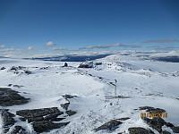 Valgte å fortsette sørover for å komme ned av Solsidevassberget