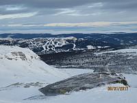 Zoomet inn på Kvitfjell