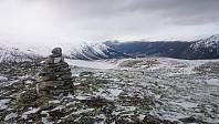 Toppen og vestover mot Skjåk