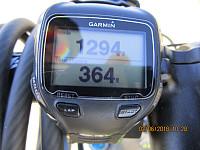 Det ble 364 høydemetre på sykkelen før jeg tok av veien