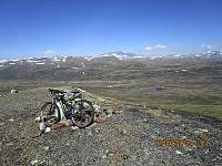 Da var jeg på dagens første topp, Vålåsjøhøe
