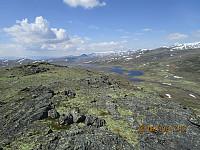 Tok en tur oppom også det andre toppunktet, Knarthøe som var litt lavere