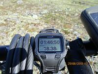 18 km i motbakke på grusvei med løs grus er en bra treningstur i seg selv, men i dag var dette bare første etappe av turen