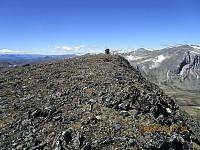 Da var jeg endelig på toppen av Einøvlingseggen