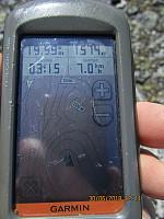 GPSen viste riktig høyde på Tvillingkollan