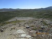 Ned mot området ved Haukberget, hvor veiene er fjernet