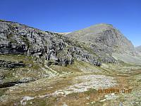 Tilbakeblikk opp på Vassberget