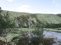 Her tar stien av opp mot Høgronden