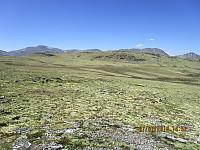 Turens neste topp, Neverbuhøe, ser ut som et fjell med har ikke så mange PM