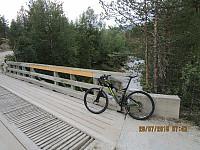 Da ble det en kortere tur i dag, og den startet på sykkel inn til Elgvasslii