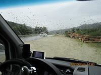 Etter en hvil i bilen satte jeg kursen sørover for eventuelt å bestige Valdreshøgda, men møtte regnet for fult, så det ble ikke noe av.