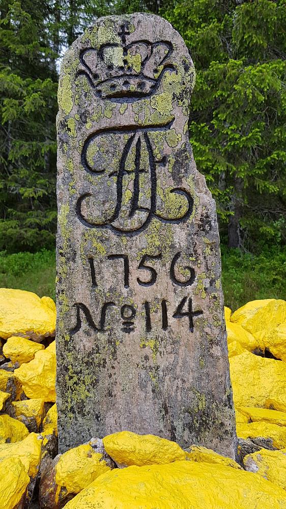 Da har jeg vært på Norges grensevarde nr 114