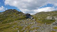 Såleggje til høyre i bildet, men først gikk jeg videre på den fjellryggen jeg var på