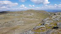 Da må jeg ned igjen et stykke for å gå opp på Såleggje som er turens høyeste punkt