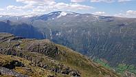 Over Bøverdalen mot Lomseggje og Storivilen