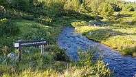 Her krysset jeg vannkanalen. Minner meg om Levadaene på Madeira