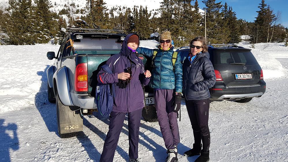 Da var turen over og vi var klare for kjøreturen tilbake til Lillehammer