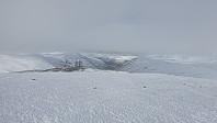 Utsikt fra Nørdre og ned dalen