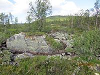 Tilbakeblikk opp på Reinsjøhaugen