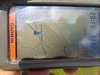 GPSen måtte slås på igjen for å få beviset på at jeg var på toppen