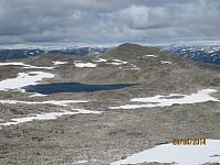 Utsikt mot Okken Nordtoppen